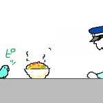 【栃木】迷子インコ、署員に飛び乗り「保護」 宇都宮南署、飼い主待つ[11/30]