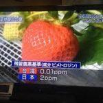 【農薬大国日本】台湾で日本から残留農薬最多