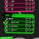 【Switch】Splatoon2/スプラトゥーン2イカ884杯目