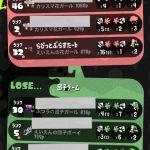 【Switch】Splatoon2/スプラトゥーン2イカ851杯目