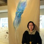 【〈:3彡】ほぼ毎晩イカの夢、イカだけ描き続けて13年 女性画家(32)が個展★2