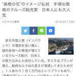 産経新聞「高値の花」[711847287]