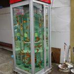 【奈良】「金魚電話ボックス残して」 大和郡山市民が市などへ署名提出